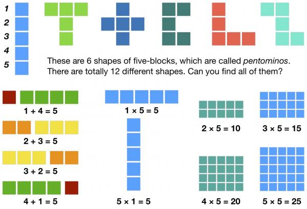 Number Blocks: All About Five
