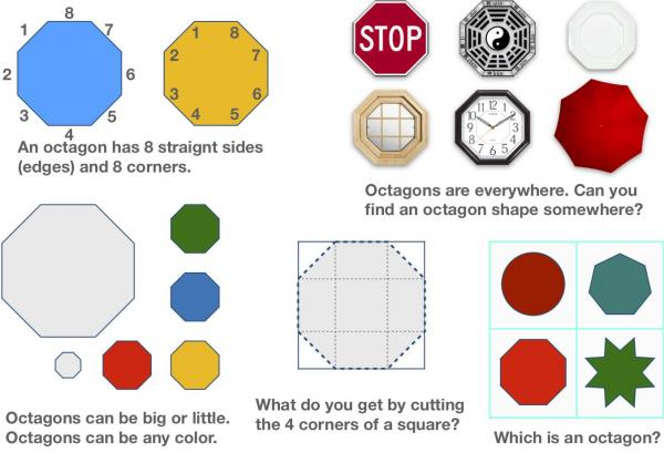 All About Shapes - What is an Octagon?