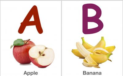 Alphabet Flashcards: ABCD