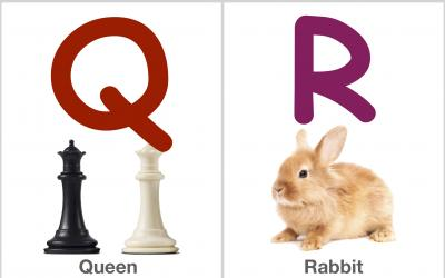 Alphabet Flashcards: QRST