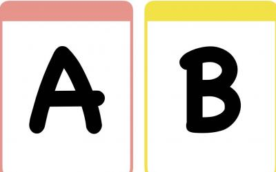 Alphabet Flash Cards in Upppercase