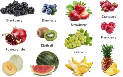 Fruits Pictures: Berries, Melons and More