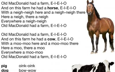 Old MacDonald Had a Farm Nursery Rhyme