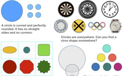 All About Shapes - What is a Circle?